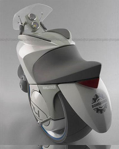 The Embrio - экологичный одноколесный мотоцикл