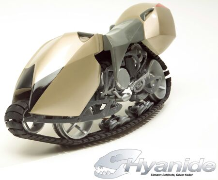 The Hyanide - мотоцикл-внедорожник