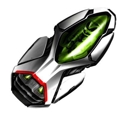Honda Power Four, автомобиль будущего