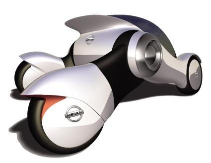 Nissan OneOne, автомобиль будущего