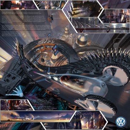Volkswagen SlipStream, автомобиль будущего