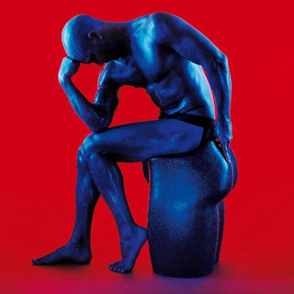 Стул в виде мужского тела