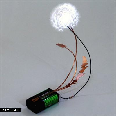 Лампа-одуванчик