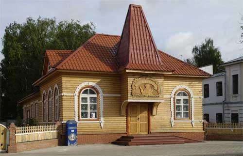 Здание почты Деда Мороза
