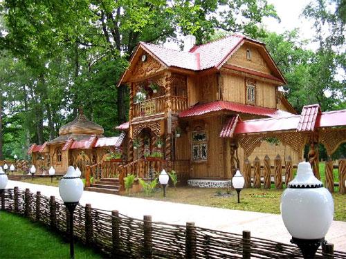 Усадьба Деда Мороза в Беловежской пуще