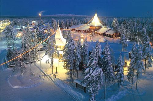 Резиденция Санты Клауса в Лапландии