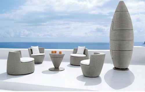 Складной набор мебели для гостиной Obelisk