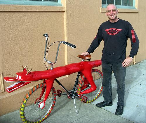 Велосипед-дракон