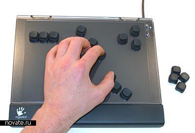Полностью настраиваемая клаиватура DX1 Input System