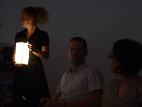 Лампа «Просвещение» несет свет любителям книг