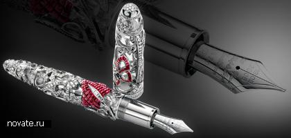 Самые дорогие и эффектные пишущие ручки мира