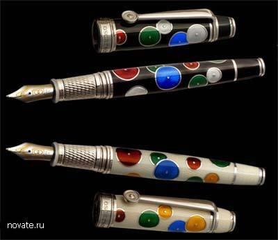 Pierrot White Fountain Pen - 4900$