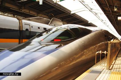Скоростной японские поезд N700