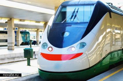 Итальянский поезд Treno Alta Velocita; Spa