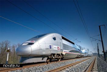 Итальянский поезд Treno Alta Velocità Spa