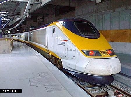 Европеский поезд Eurostar
