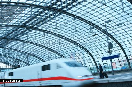 Немецкий поезд ICE