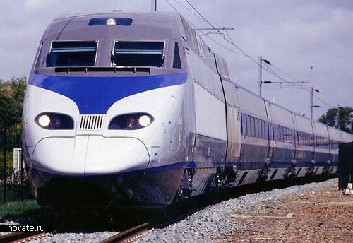 Поезда KTX из Южной Кореи