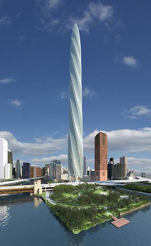 Проект Chicago Spire в США