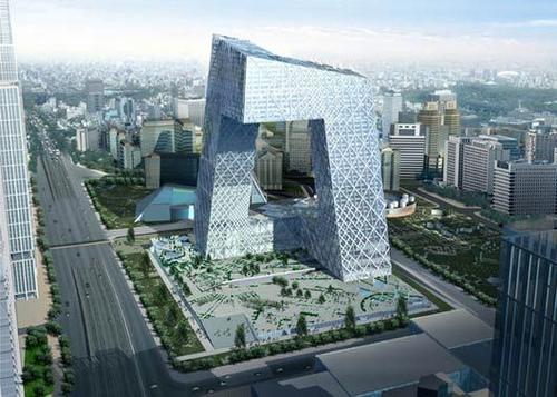 Проект штаб-квартиры CCTV в Китае