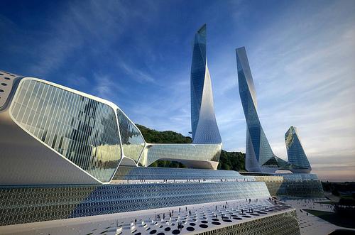 Проект городского центра Penang в Малайзии