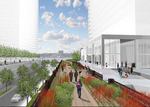 Проект улицы High Line в Нью-Йорке