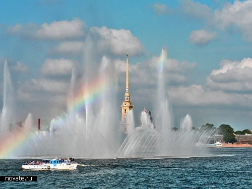 Красивейшие и необычные фонтаны мира