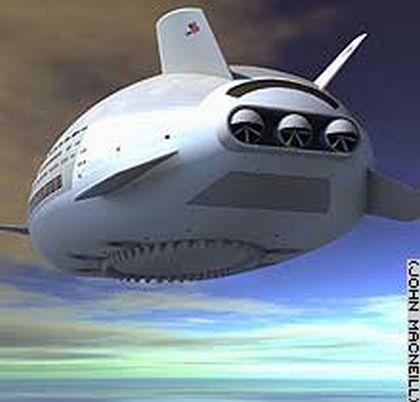 Aeroscraft: Летающий люксовый отель завтрашнего дня