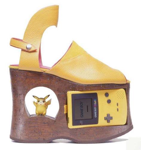 Обувь с приставкой в платформе
