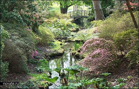 The Exbury gardens (Саутгемптон, Англия)