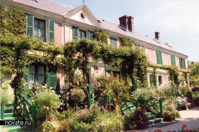 Claude Monets Garden (Живерни, Франция)