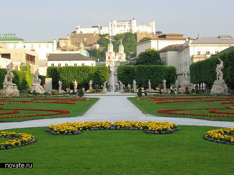 Mirabell gardens (Зальцбург, Австрия)