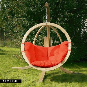 Кресло-качели Amazonas GLOBO Swing Seat для вашей дачи