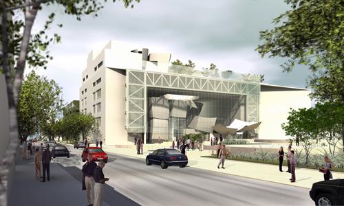 Здание New World Symphony hall в Майами-Бич
