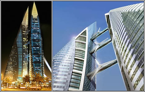 The Bahrain World Trade Center Towers, Бахрейн
