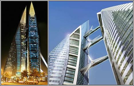 The Bahrain World Trade Center Towers, Бахрейн
