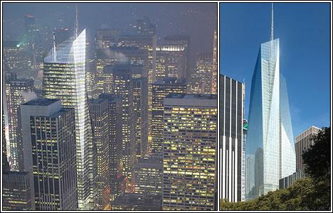 Bank of America Tower, Нью-Йорк