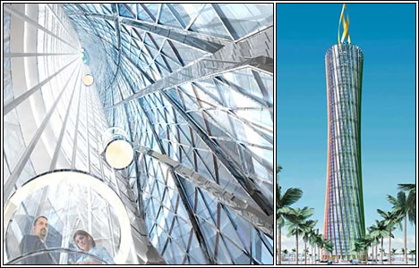 The Burj al-Taqa (Energy Tower), Дубай