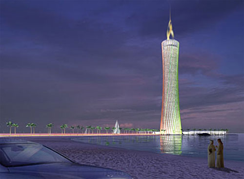 The Burj al-Taqa (Energy Tower), Дубай