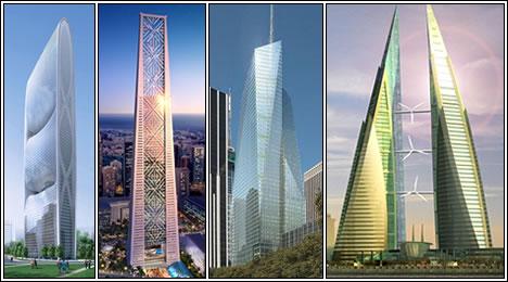 Экологически продвинутые небоскребы мира