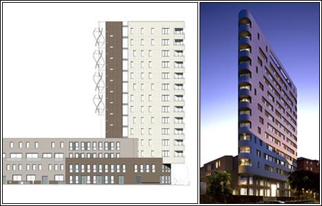 Waugh Thistleton Residential Tower, Лондон