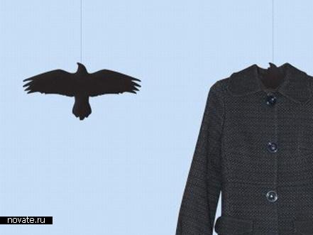 Вешалки в виде ворона