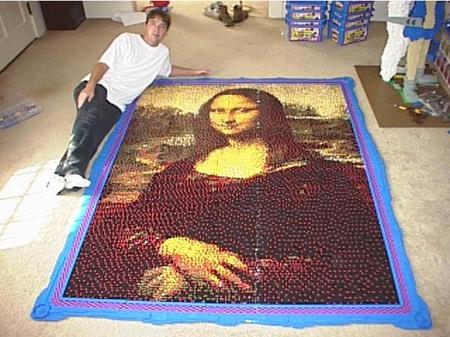А уж этой мозайке и сам Да Винчи бы позавидовал!