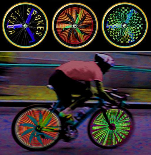 Hokey Spokes - подсветка для велосипеда