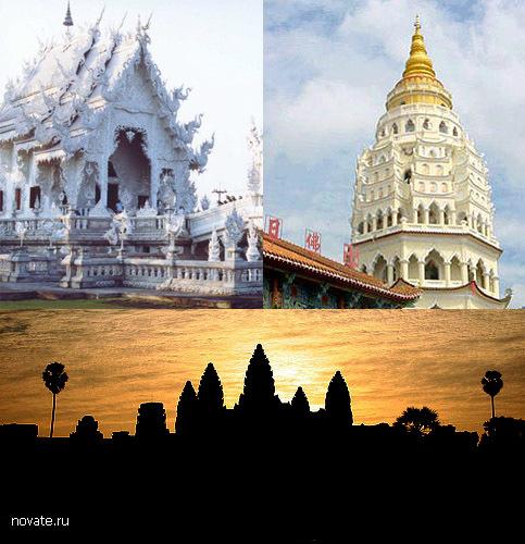 Азиатские храмы