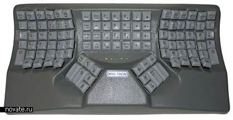 Эргономичная клавиатура Maltron 3D