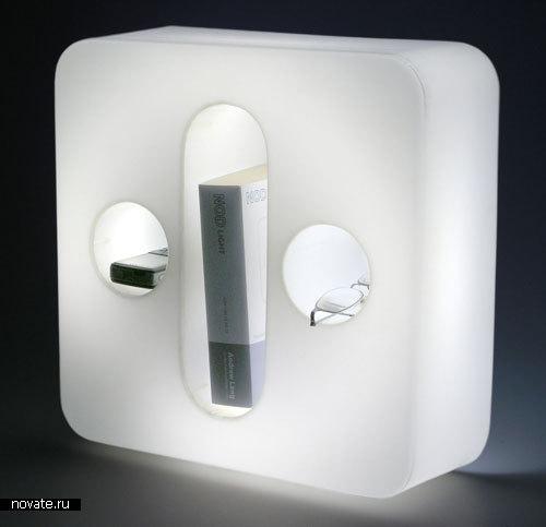 Лампа, в которой можно хранить вещи