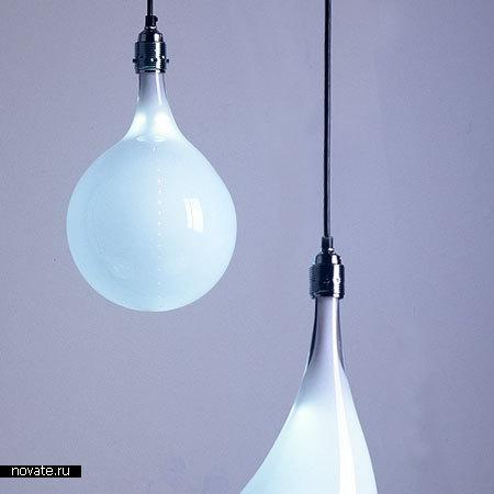 Лампы, напоминающие застывшие капли
