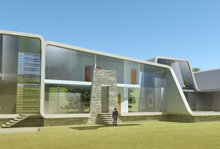 Блок из четырех жилых домов на Кипре со всеми экологическими технологиями