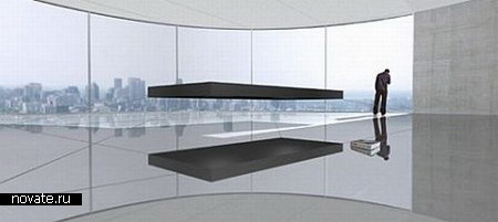 Кровать Magnetic floating bed
